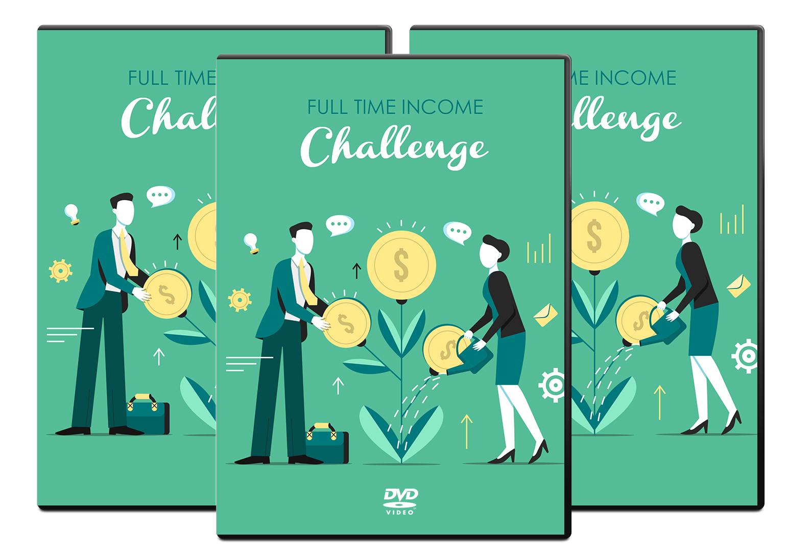 Full Time Income Challenge ecover