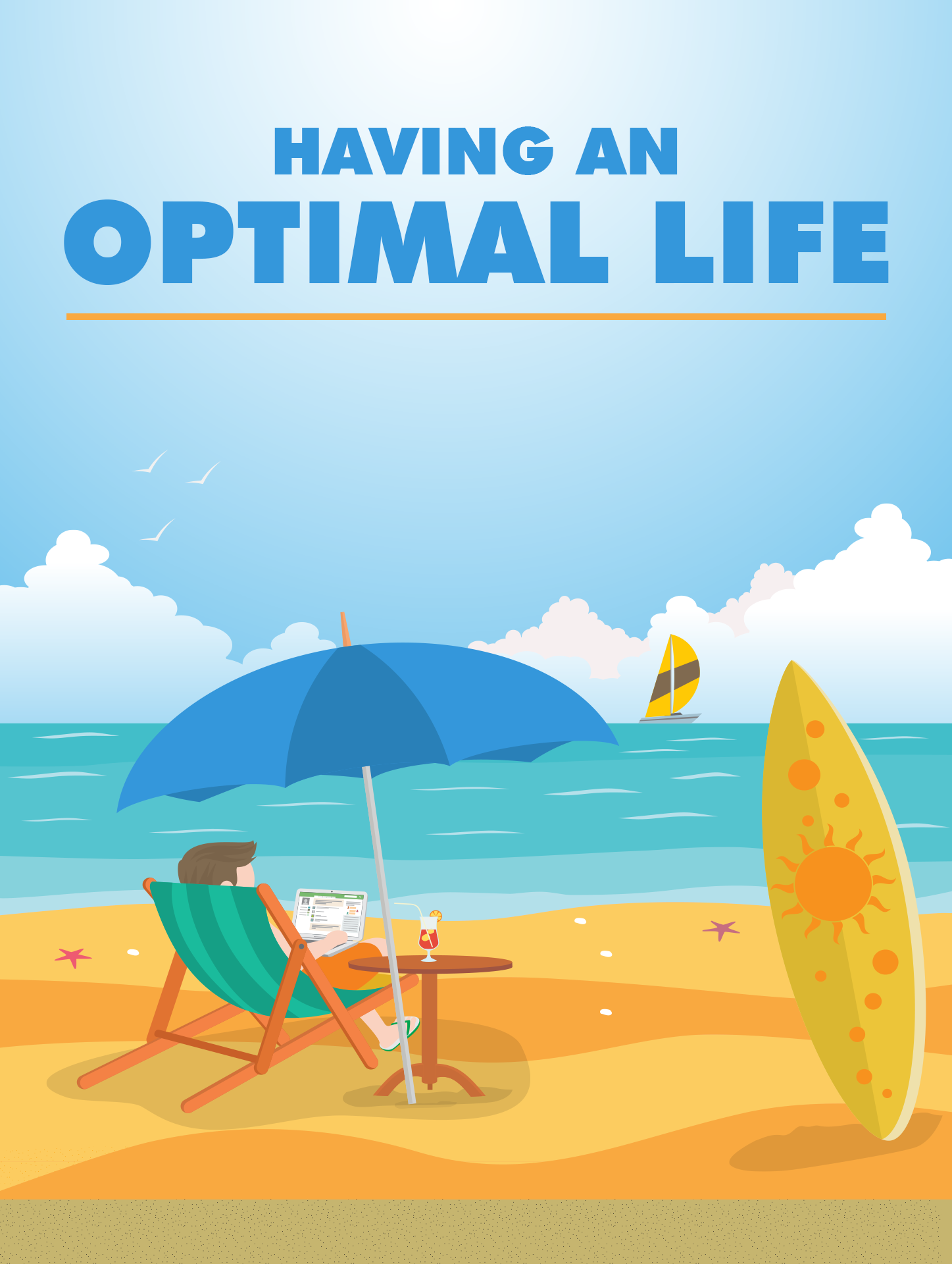 Having An Optimal Life ecover