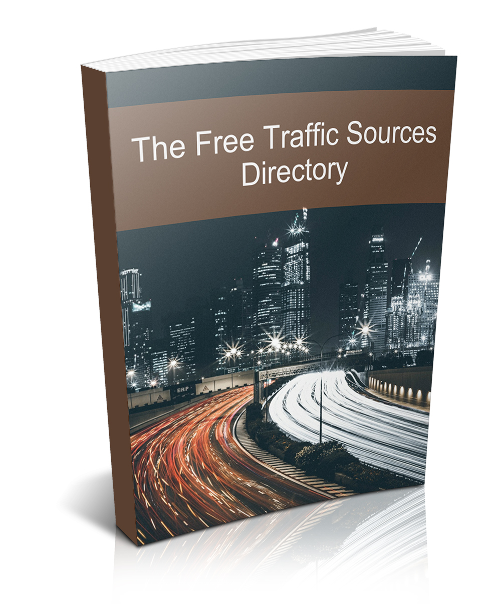 The Free Traffic Sources Directory ecover