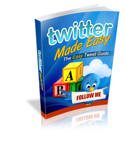 Twitter made Easy ecover